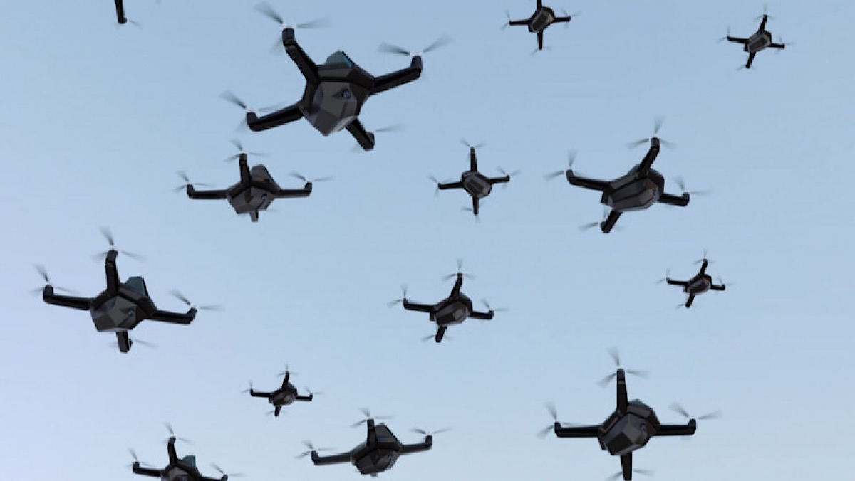 Israel Just Used Fully AI Controlled Drone Swarms in a World First