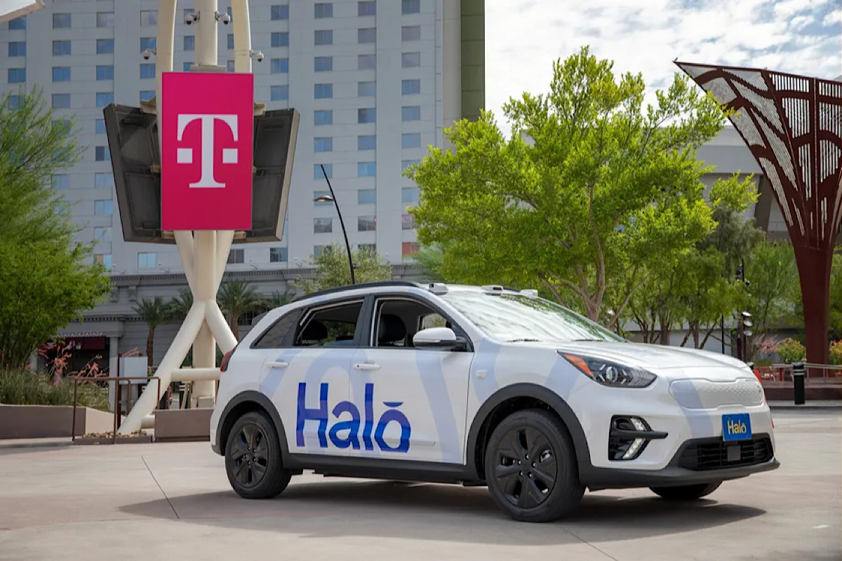 Startup Halo will bring driverless car service to Las Vegas later this year on T-Mobile 5G