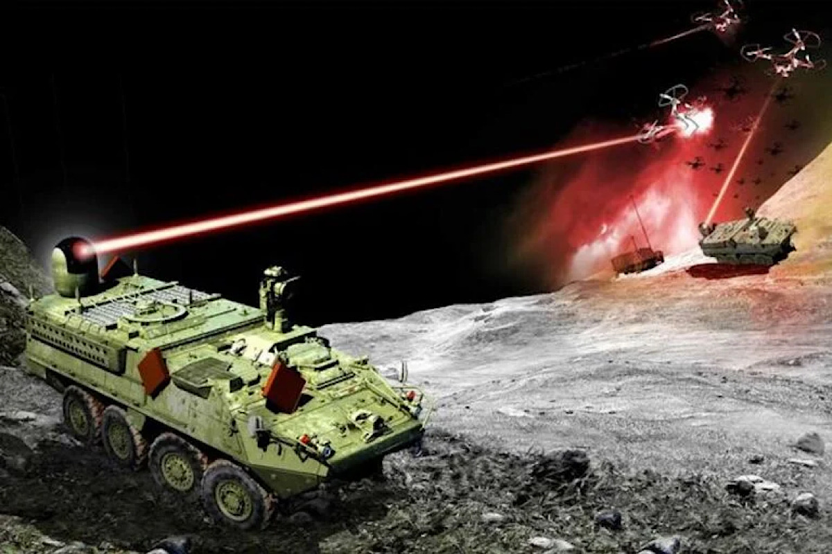 The Army's first laser weapon is almost ready for a fight