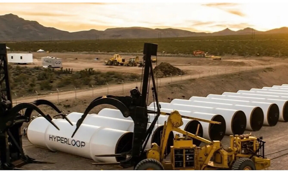 Hyperloop included in $1.2 trillion US infrastructure bill