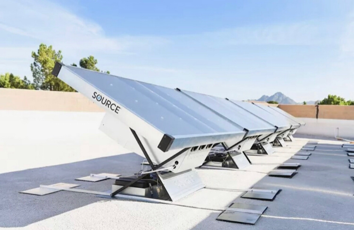 This Solar Hydropanel Can Pull 10 Liters of Drinking Water Per Day Out of the Air