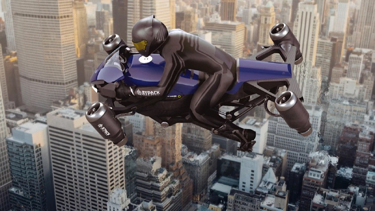 Forget Flying Cars. The World's First Flying Motorcycle Is Coming.