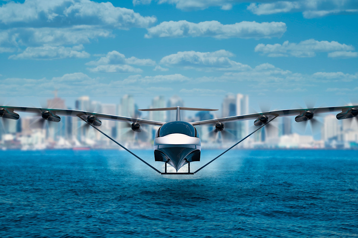This Hybrid Boat-plane Could Transform the Way We Travel Between Major Coastal Cities