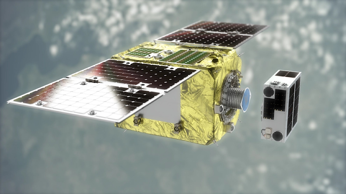 Astroscale successfully demos in-space capture-and-release system to clear orbital debris