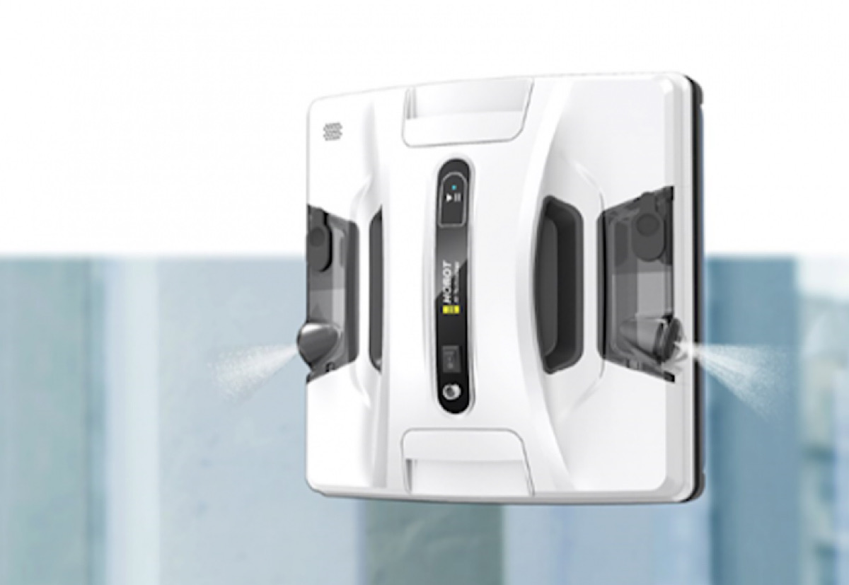 Hobot Technology unveils new window-cleaning robot