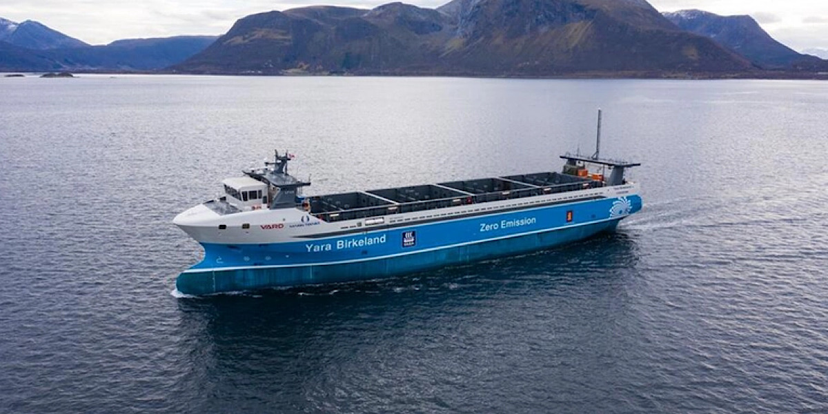 World's first autonomous, 7MWh electric cargo ship to make voyage with zero crew onboard