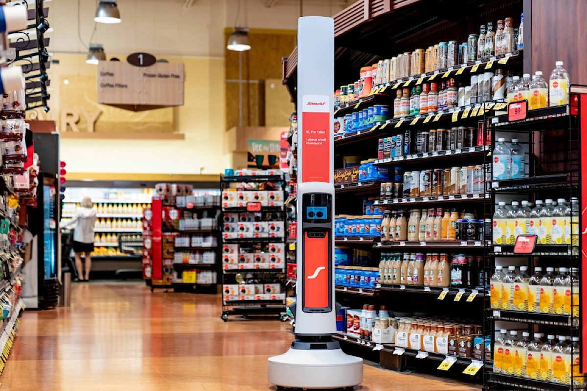 Simbe's robots will be deployed across midwestern grocery chain, Schnucks