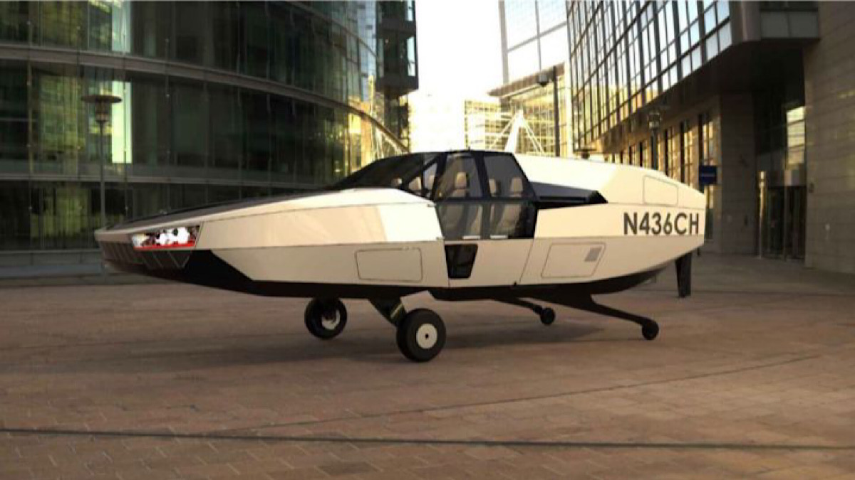 Cityhawk, An Electric Flying Car Without Wings That Already Takes To The Skies