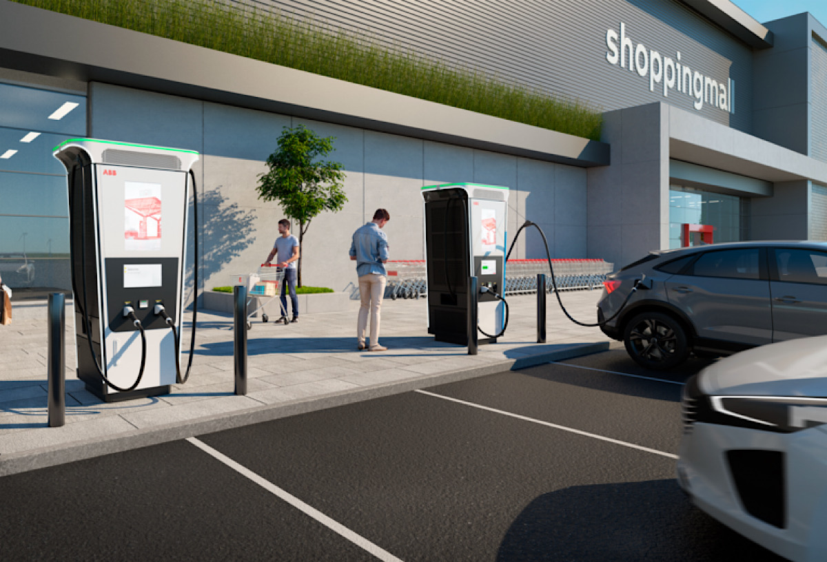 ABB launches the world's fastest electric car charger