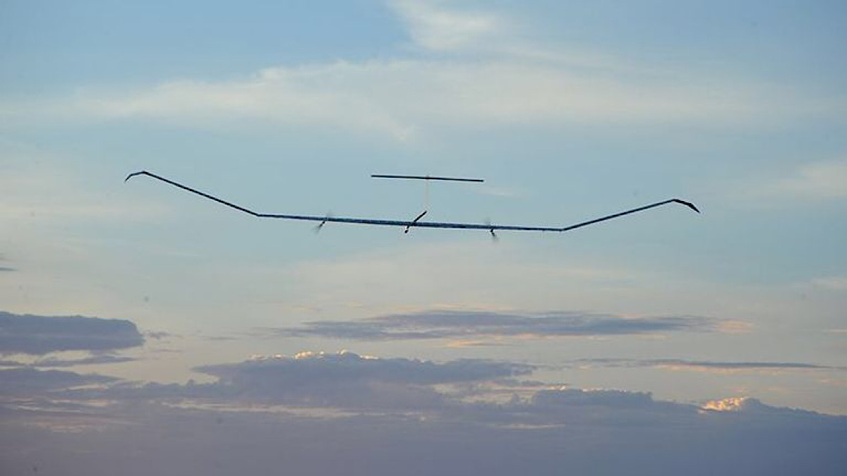 Solar-powered aircraft could spend six months in the stratosphere at a time